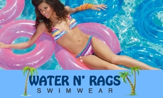 Water N' Rags We're All About Swimwear
