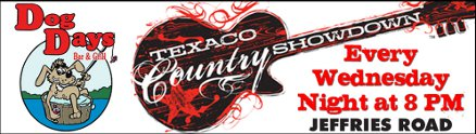 Texaco Country Showdown Every Wednesday at Dog Days