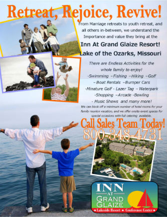 Inn at Grand Glaize | Lake of the Ozarks Resort Packages