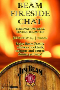 Beam Fireside Chat 1/24 at Wobbly Boots