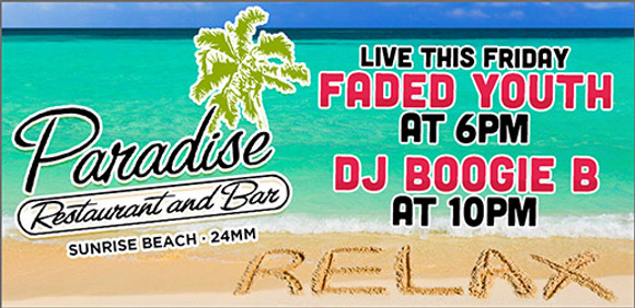 Faded Youth 8/25 ParadiseTropical Bar